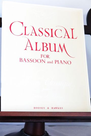 Classical Album for Bassoon & Piano arr Willner A